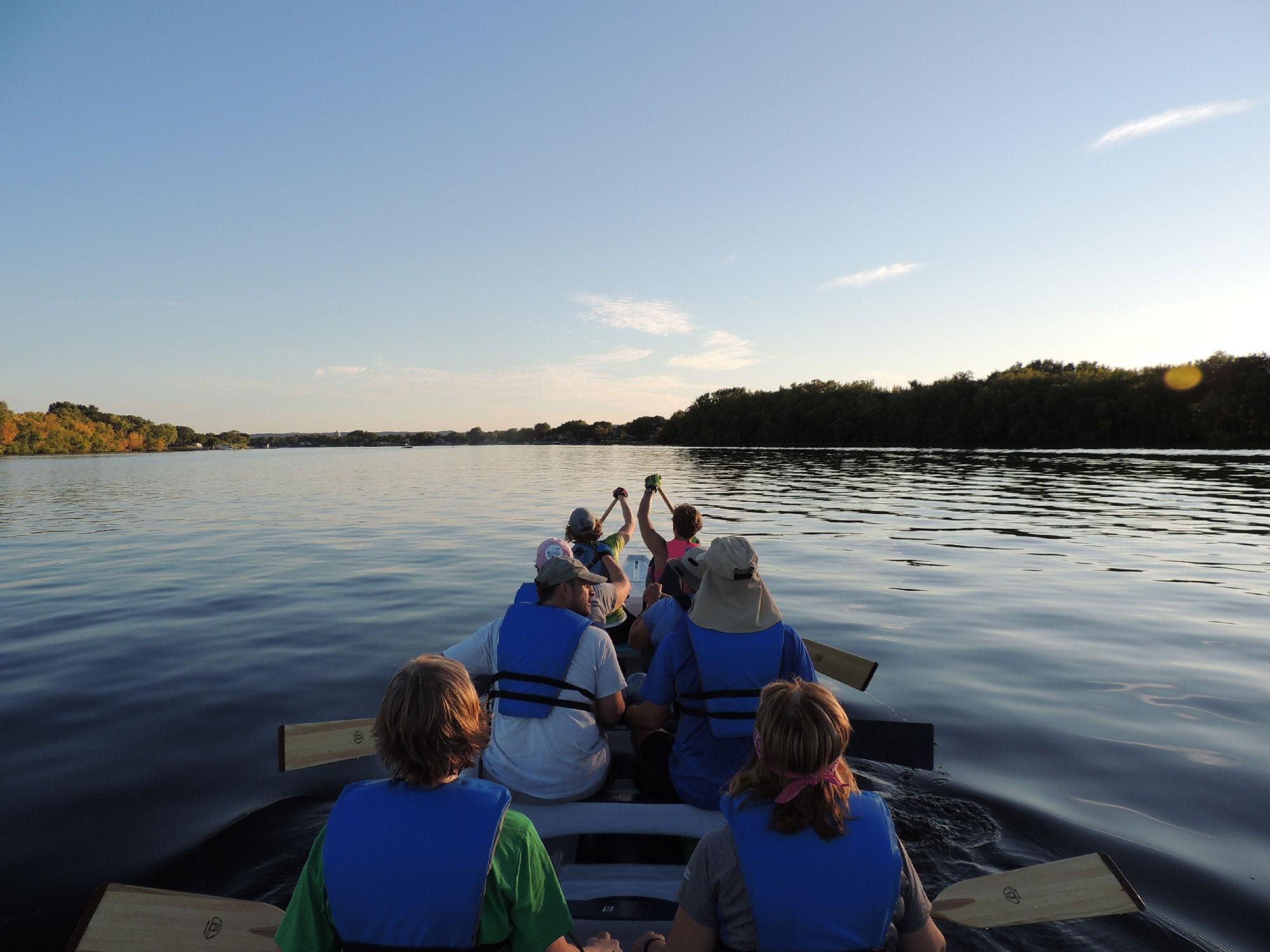 Open Water Dragon Boat